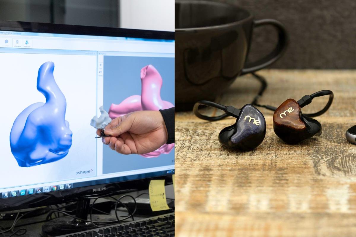 舒適的幕後功臣:3D 列印客製耳機的製程大公開
