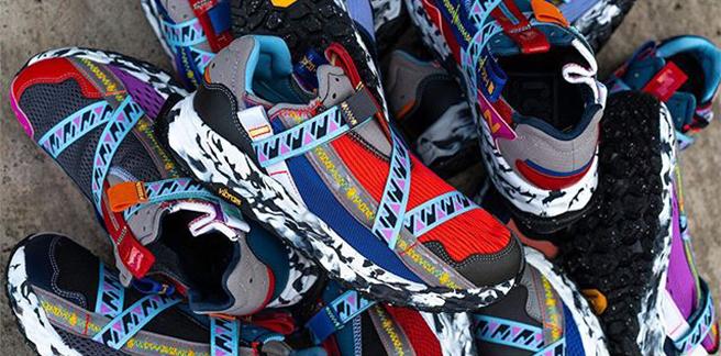 NewBalance-拼貼風球鞋