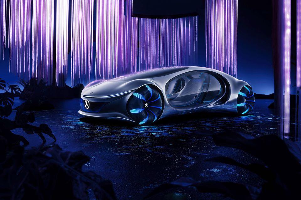 Mercedes-Benz:CES2020