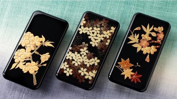 重現漆藝的生物塑膠製手機殼