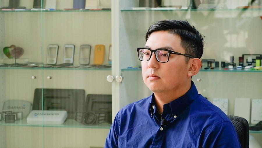 隆怡研發部門市場行銷經理 陳致達